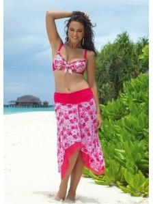 Пляжная туника-юбка